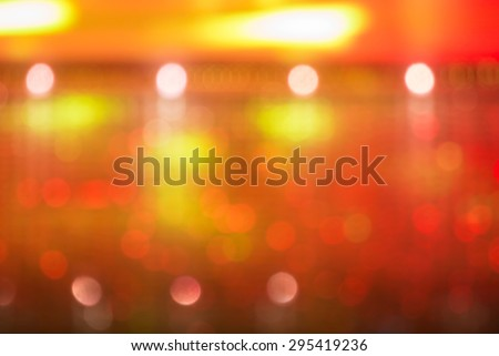Blur background (night light color,blur by focusing from camera , not photoshop blur)