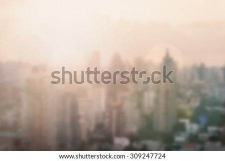 blur background of morning...
