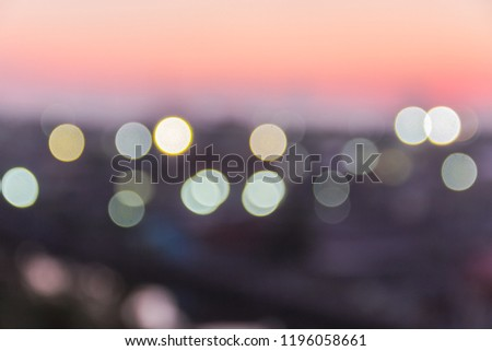 Blur Background skyline,lighting and sunrise in the morning sky,well use montage editing text on free space background #1196058661