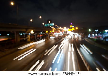 blur colorful lighhts traffic abstract background #278449415