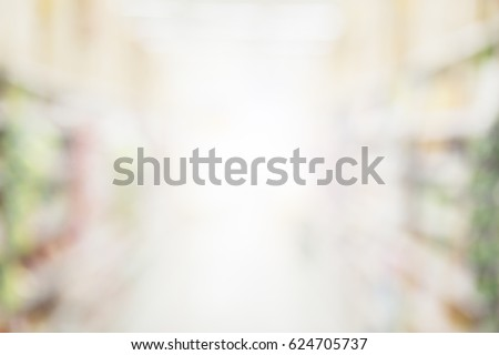 blur image background of shopping mall