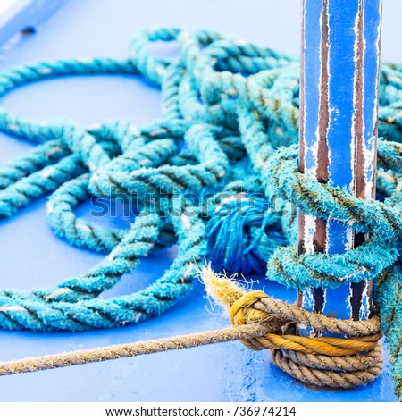 blur  in   philippines  a rope in  yacht accessory  boat  like  background abstract #736974214