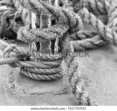 blur  in   philippines  a rope in  yacht accessory  boat  like  background abstract #765735925