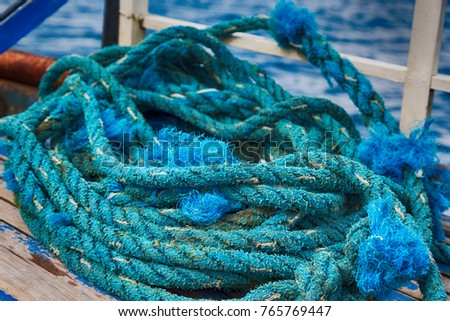 blur  in   philippines  a rope in  yacht accessory  boat  like  background abstract #765769447