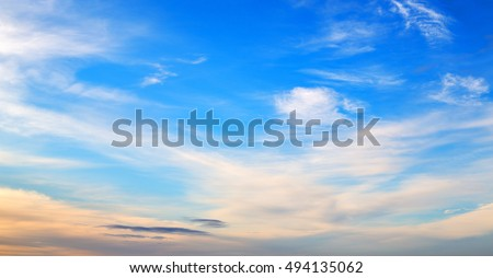 blur in south africa    nature cloud light and empty sky #494135062