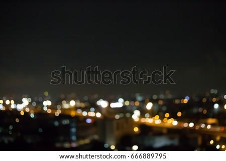 Blur night background #666889795