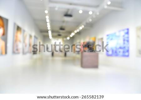 blur or defocus image of the...
