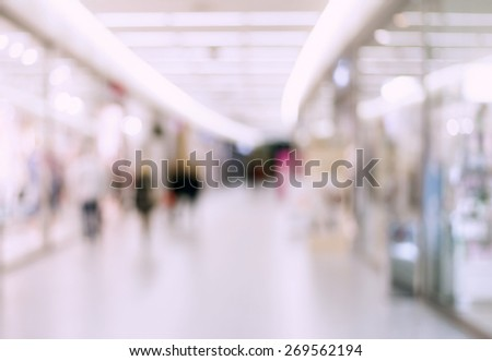 Blur store with bokeh background #269562194
