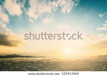 Blur sunshine nature sky scenic summer background concept magic christian peaceful congratulation Relax hope love peace island, ramadan pattern, Focus morning bokeh ocean sunset beach scenery event