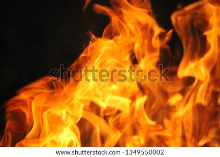 Blurrd Blaze fire flame texture background. #1349550002