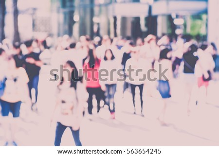 Blurred abstract background of The festival #563654245