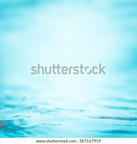 Blurred abstract background wavy clean fresh water in cool cyan turquoise blue green vintage color tone: Blurry peaceful aqua soft pattern conceptual textured backdrop: Save environment concept