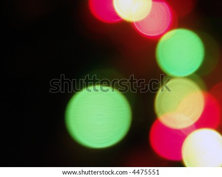 Blurred Abstract Light Background
