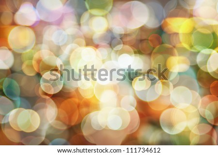 Stock Photo Blurred abstract pattern - circle light photo background