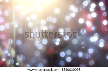 Blurred backdrop, blurred background, circle blur, bokeh blur from the light shining through as a backdrop and beautiful computer screen images. #1580030098