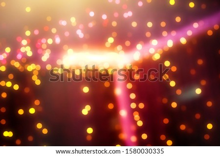 Blurred backdrop, blurred background, circle blur, bokeh blur from the light shining through as a backdrop and beautiful computer screen images. #1580030335