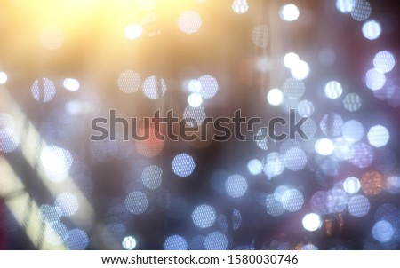Blurred backdrop, blurred background, circle blur, bokeh blur from the light shining through as a backdrop and beautiful computer screen images. #1580030746