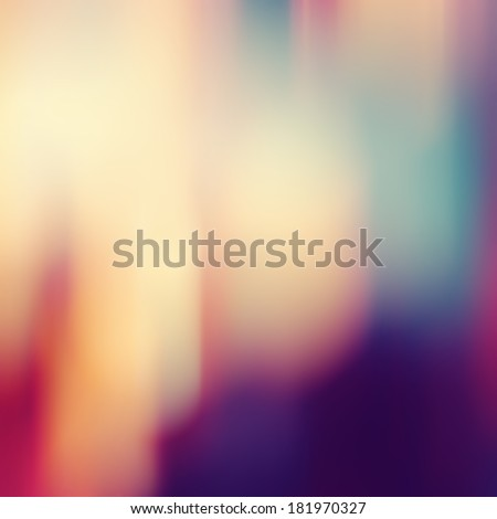 Blurred background.Abstract background with bokeh defocused lights and shadow.Multicolors bokeh.Vintage style.Disco lights.