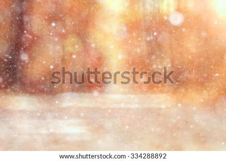 blurred background bokeh nature ...