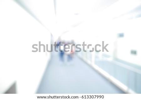 BLURRED BACKGROUND HOSPITAL #613307990