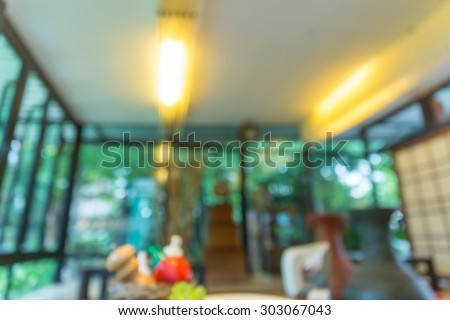 Blurred background made with Vintage Tones,Coffee shop blur background, food blur background
