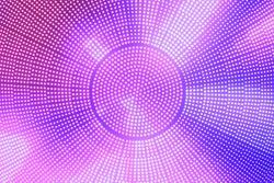 blurred background of multiple of led dot