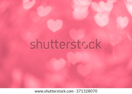 Blurred Background Of Valentines Day Concept Card Pastel Color Tonespink