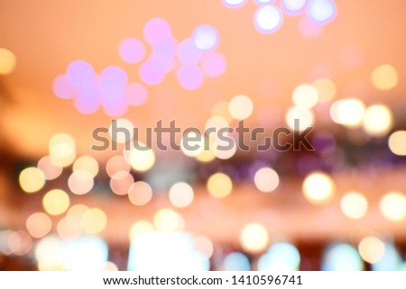 blurred background with bokeh /  blurred bokeh background texture #1410596741
