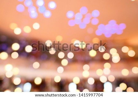 blurred background with bokeh / blurred bokeh background texture #1415997704