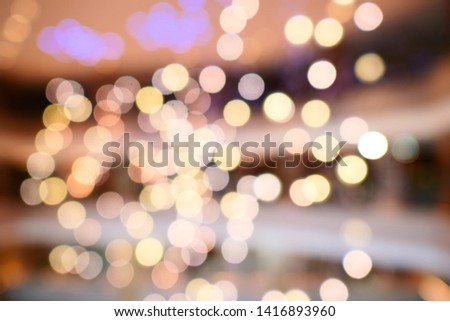 blurred background with bokeh / blurred bokeh background texture #1416893960