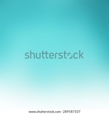 blurred blue green sky background