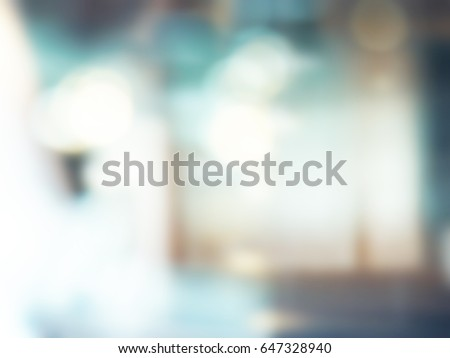 Blurred business office with bright light for background