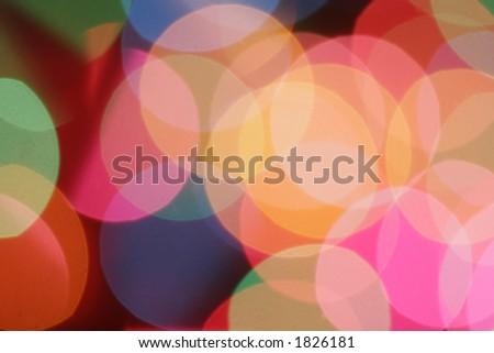 blurred circular lights