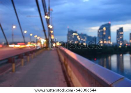 blurred cityscape #648006544