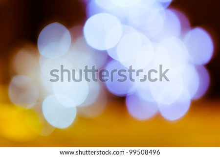 Blurred color lights background - stock photo