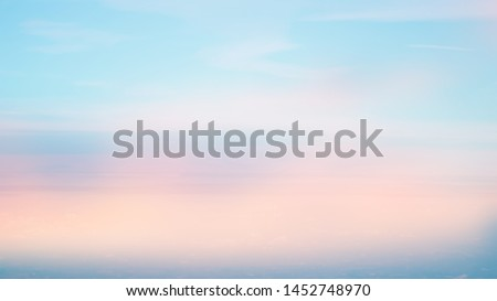 blurred colorful pastel of natural sky clouds landscape background with cloudscape for design  #1452748970