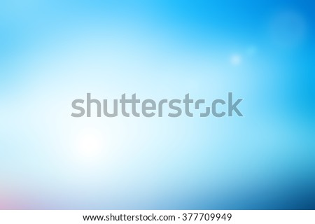 blurred flash background with sparkle ray flare light.blurry ideal backdrop concept.pastel cool tone color.colorful of blue gradient image:brightening sunshine day season:holiday vacation conception.