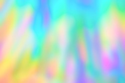 Blurred holographic psychedelic streaks texture background