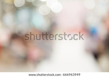 Blurred image of store #666963949