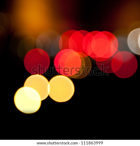 blurred lights abstract color background
