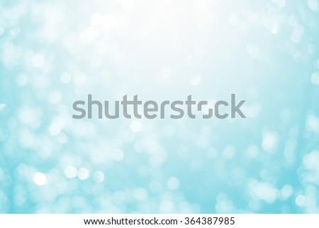 Blurred Lights on blue background.