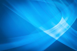 Blurred Lights on blue gradient abstract background high light in middle design for presentation. light blue gradient background / blue radial gradient effect wallpaper