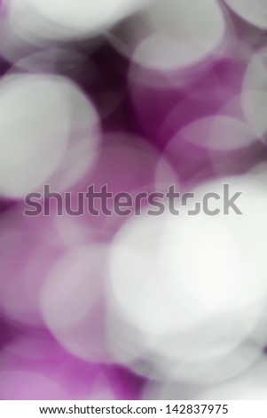 Blurred lights pink bokeh abstract light background