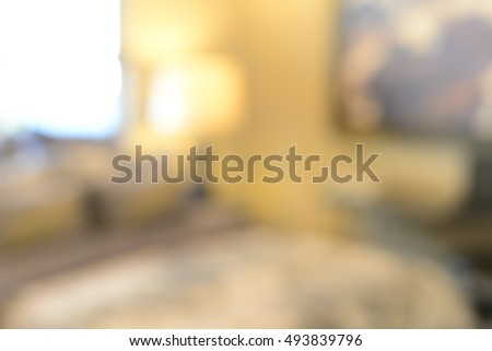 Blurred Luxurious interior, abstract blur background for web design. Instagram Style. #493839796