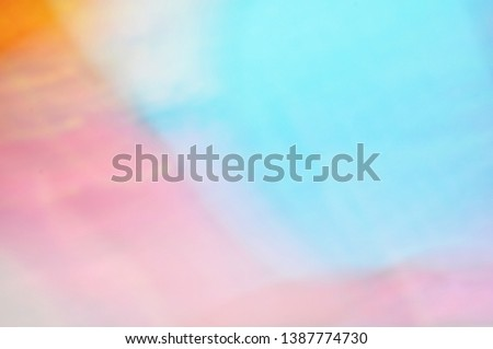 Blurred motley children's positive multicolored simple background texture with place for text