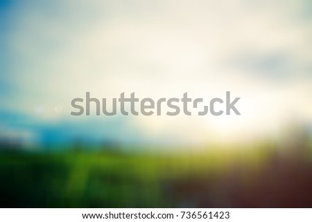 blurred nature fields backgrounds #736561423