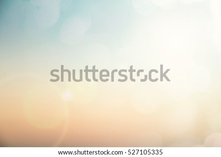 Blurred nature sky clean defocus backdrop scene concept for 2018 congratulation theme text heading holy spirit soft sea ocean art color pastel fresh ocean ozone montage red new central festival asia