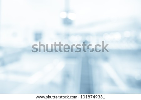 BLURRED OFFICE BACKGROUND  #1018749331