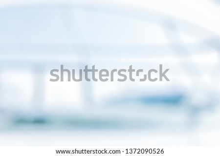 BLURRED OFFICE BACKGROUND #1372090526