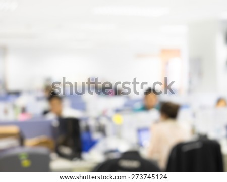 blurred office background, Group of people on business discussion and planning